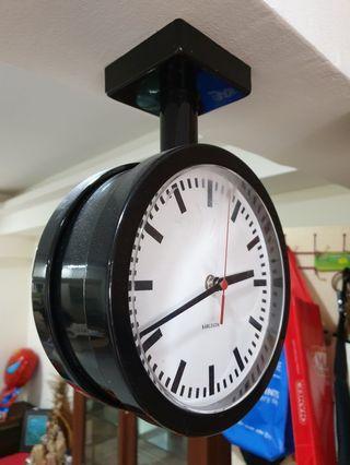 TWO face retro clock