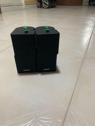 Bose Jewel Cube Speakers ( 2pcs)
