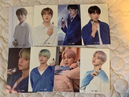 BTS x VT photocard
