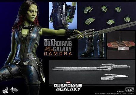 Hottoys guardians of galaxy vol 1 gamora