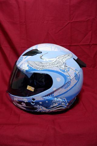 【SOL】SF-2 全罩式安全帽 浮世繪 (藍)