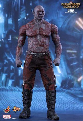 Hottoys guardians of galaxy vol 1 drax