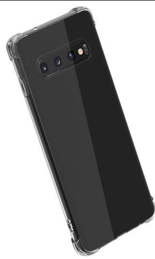 🚚 Samsung S10+ TPU break-resistant case 4 sides fully cover