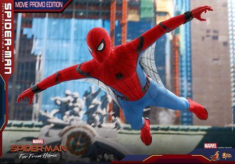 Hottoys 9/6 首日spiderman far from home movie promo edition 訂單