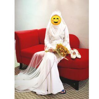 Marina Kurungs for Brides by Wanzar (Free Veil)