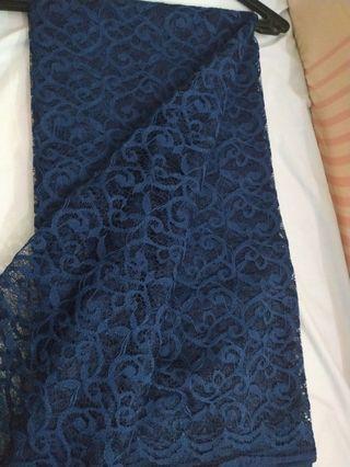 Navy blue Lace #Rayathon50