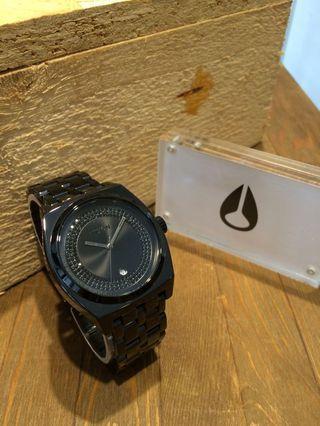 🚚 單一特惠價 🇺🇸 美國 NIXON 經典黑鑽類陶瓷女用錶