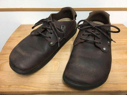 台灣未發售 二手 🇩🇪 德國 BIRKENSTOCK 咖啡霧面全包勃肯鞋 42