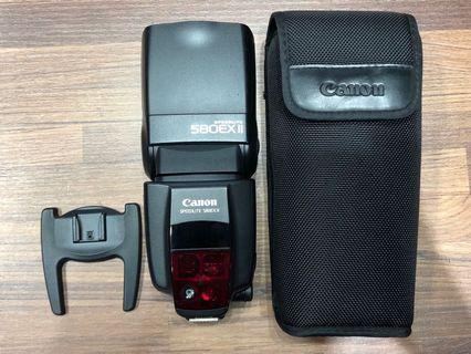 Canon Speedlite 580EX II 二代 閃光燈 閃燈 二手