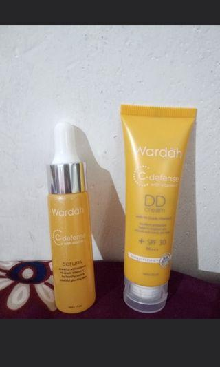 Take all (Wardah C-defense DD Cream dan Wardah C-defense Serum)