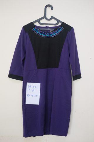 Purple Mididress