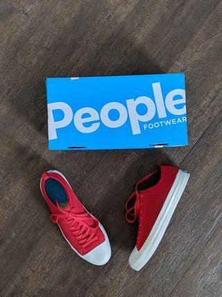 People Footwear - Stanley Knit Supreme Red
