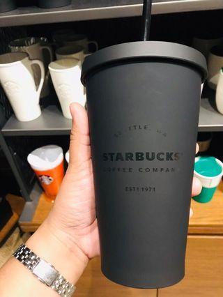 Starbucks Tumbler in Matte Black