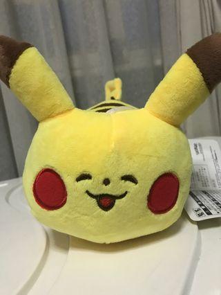 cute and soft pikachu and batman stuffed toys