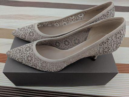 Charles and Keith Beige color heels