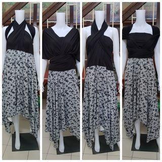 Plus size infinity dress 3XL to 5XL