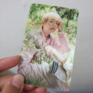 Lenticular Photo Card Byun Baekhyun
