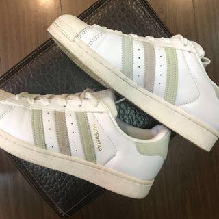 Adidas original 三葉草 馬卡龍 配色 休閒鞋 貝殼頭 奶油底