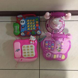 物超所值,電話玩具組,功能正常不拆賣
