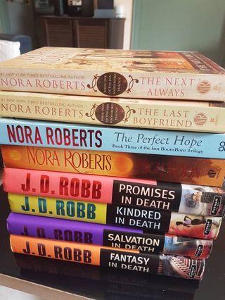 Nora Roberta & J.D. Robb Novels