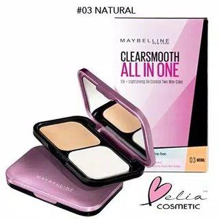 Maybelline Clear Smooth | Wardah, Pixy, Focallure