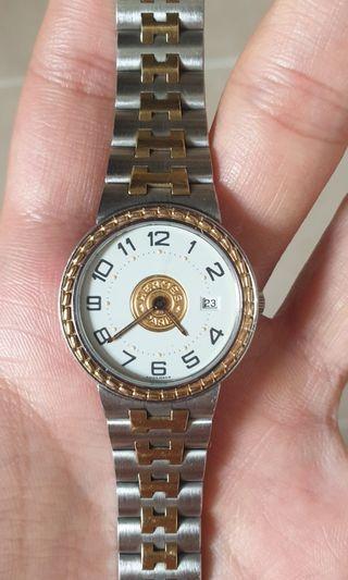 Hermes 18K Gold Watch