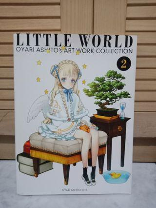Artbook Oyari Ashito Little Witch