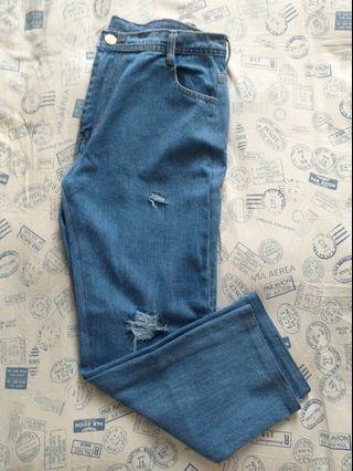 Boy friend Ripped jeans HW