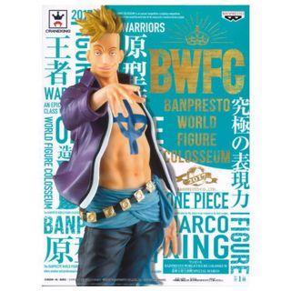 One piece Banpresto world figure - Marco海賊王 馬可
