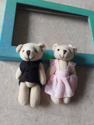Teddy Bears Couple set