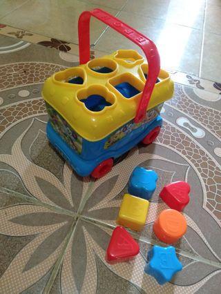 Mainan Anak Shape Sorter