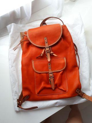 Leather Backpack / Ransel Kulit