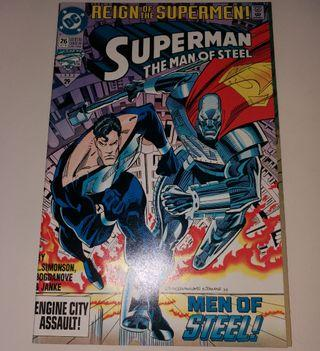 DC Comics《The Man of Steel #26 (Oct 1993) - Reign of The Superman》鋼鐵超人美國漫畫書(新淨)