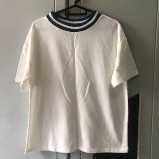 Korean outfit inspired white top