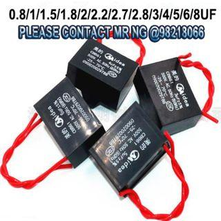 CEILING FAN CAPACITOR (2 WIRES)