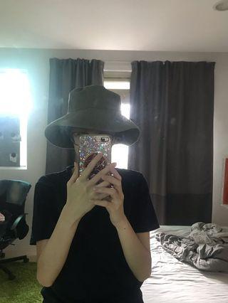 🚚 GU漁夫帽/墨綠