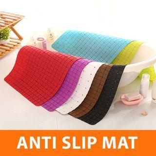Pvc bath mat / Anti slip base 69x38cm