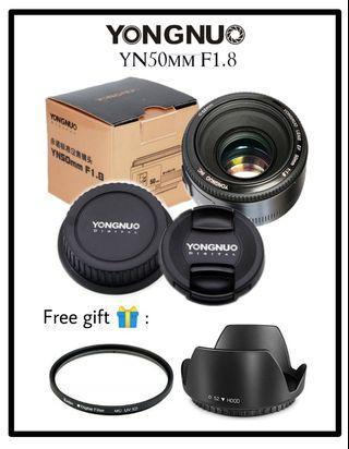 Yongnuo 50mm F1.8 (Canon mount)
