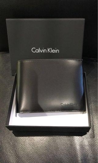 🚚 Calvin Klein men's wallet (stock : 2 pcs)