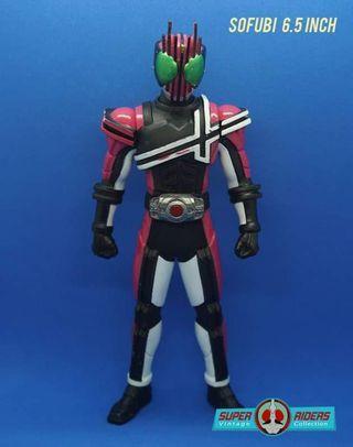 Kamen Rider Decade/Faiz/Gaim/Fourze/Wizard Sofubi