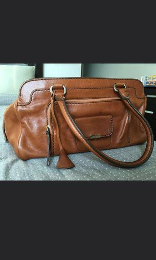 Authentic tods brown bag