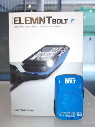 Wahoo ELEMNT BOLT (Blue/Limited Edition)