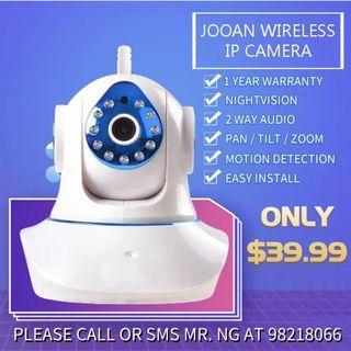 Jooan Wireless IP Camera  (1 Year Warranty)