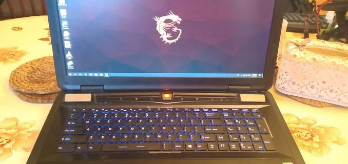 USED 17.3 inch Gaming Laptop GTX870M i7 4th Gen 8GB RAM