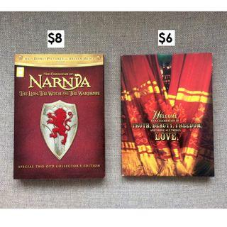 SPECIAL! 2-DVD Collector's Edition: Narnia (Lion, Witch & Wardrobe) + Moulin Rouge