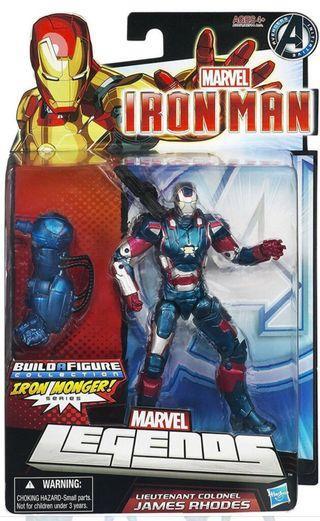 RARE Marvel Legends Iron Man 3 Iron Patriot Figure(BAF included)
