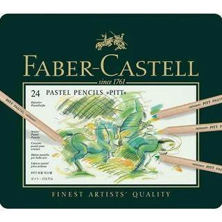 Faber Castell Colour Pencil PittPastel 24's