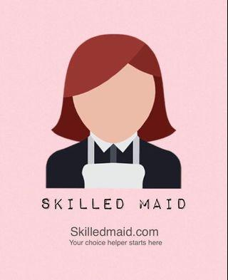 Skilled Maid House Cleaning Services