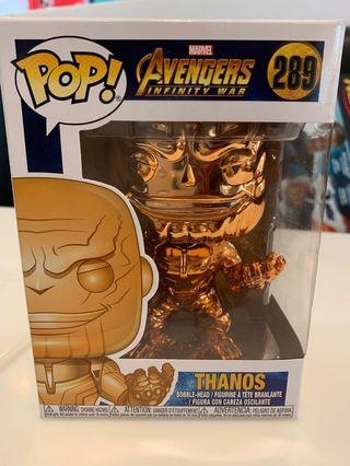Funko Pop! Marvel 289: Avengers Infinity War - Thanos (Orange Chrome) (Special Edition)