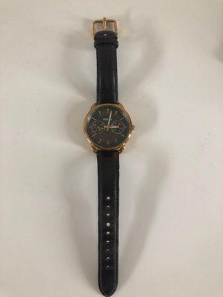 Fossil Watch gold and brown